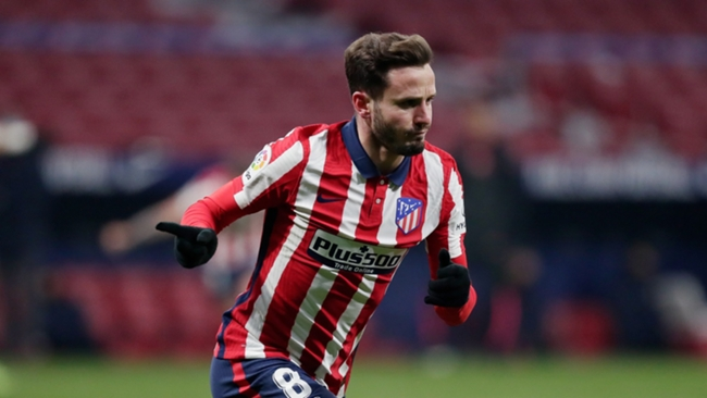 Atletico Madrid midfielder Saul Niguez is another player on Liverpool's radar