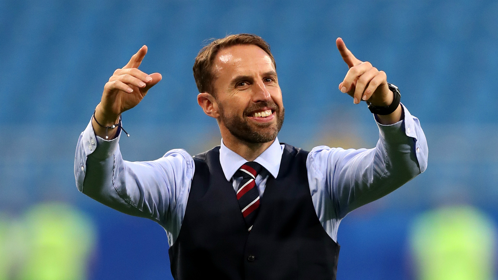 England's Gareth Southgate: Young squad 'not the finished article' yet