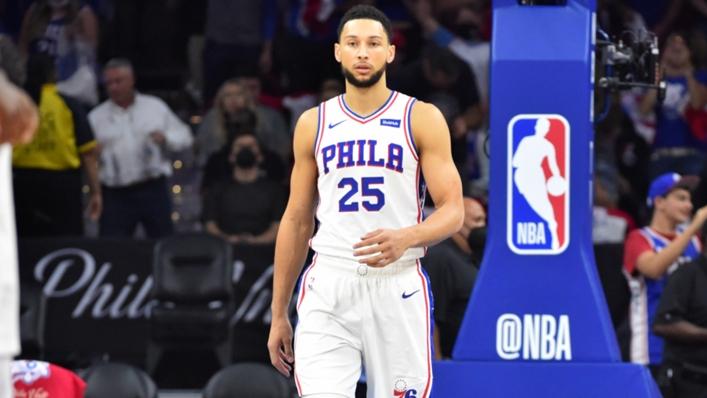 Ben Simmons of the Philadelphia 76ers