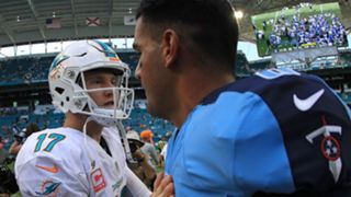 Ryan Tannehill and Marcus Mariota