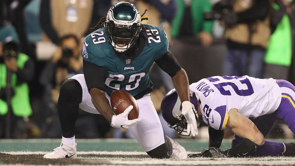 Super Bowl fifty two: Eagles RB LeGarrette Blount in 'enemy mode' against old team