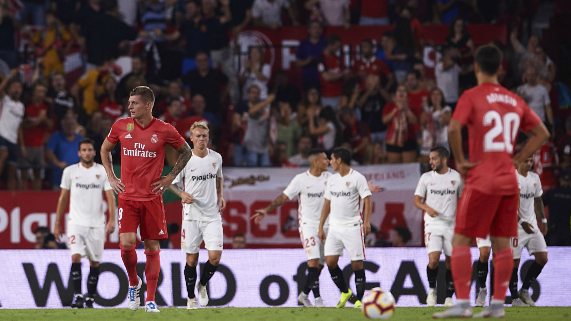 Sevilla hammer lacklustre Real Madrid 3-0 in La Liga
