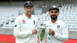 England and India captains Joe Root and Virat Kohli