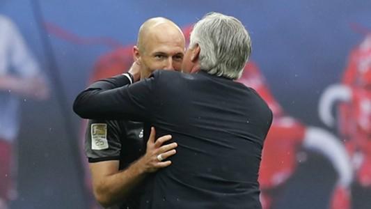 Ancelotti Robben - cropped