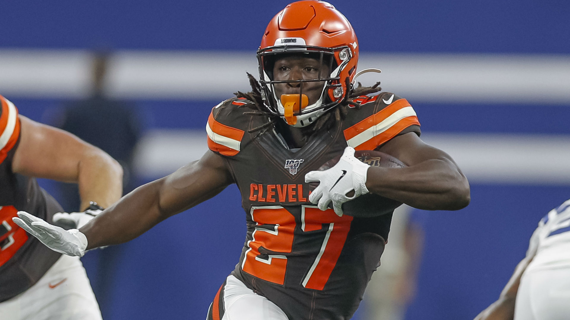 Baker Mayfield on Kareem Hunt being banned from Browns' facility: 'It hurts him'