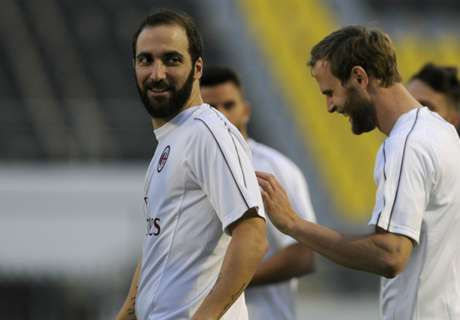 Higuain was benched because of a virus - Gattuso