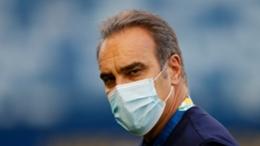 Chile head coach Martin Lasarte
