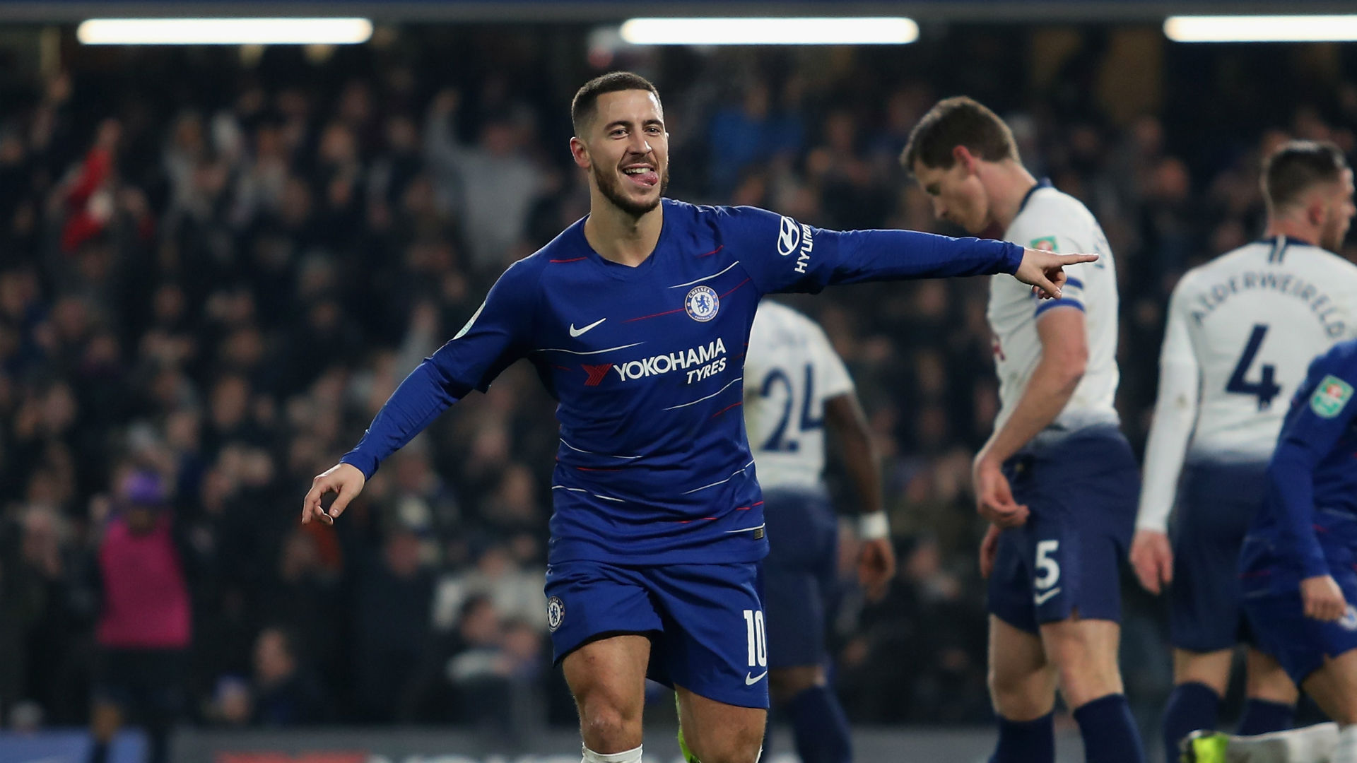 Chelsea reach Carabao Cup final: 'I don't care' - Hazard on Sarri criticism