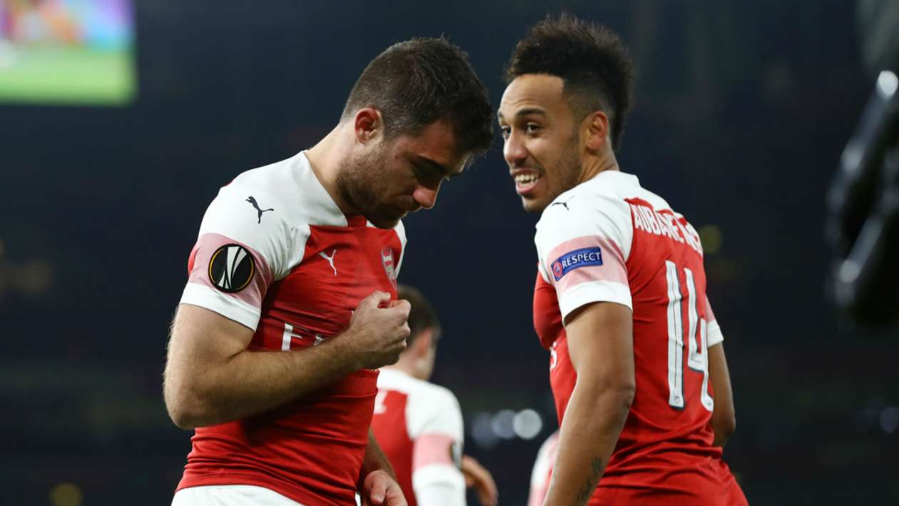 Europa League 2018-2019 Report: Arsenal 3 BATE 0 (3-1 agg) - Emery's men ease through