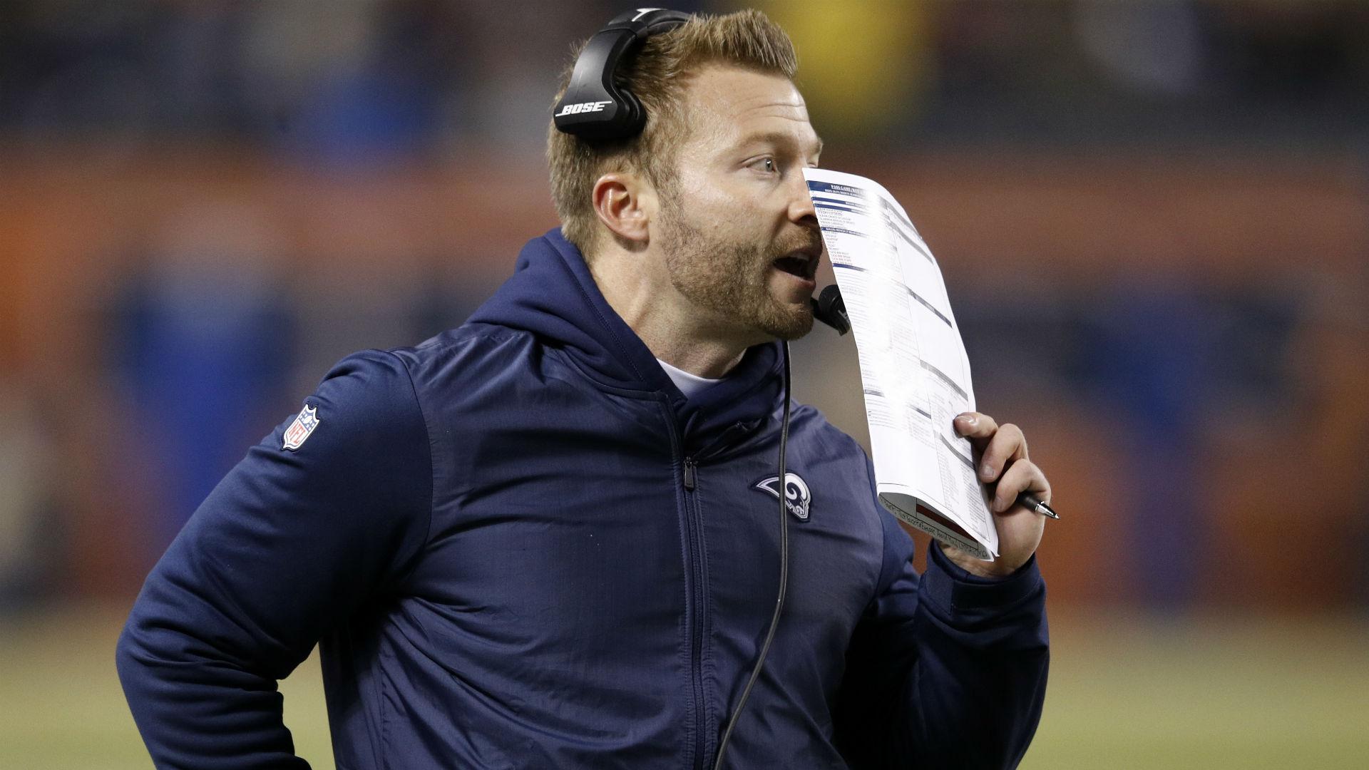 Sean McVay broke down plays on TV in real time during Rams-Cowboys preseason game