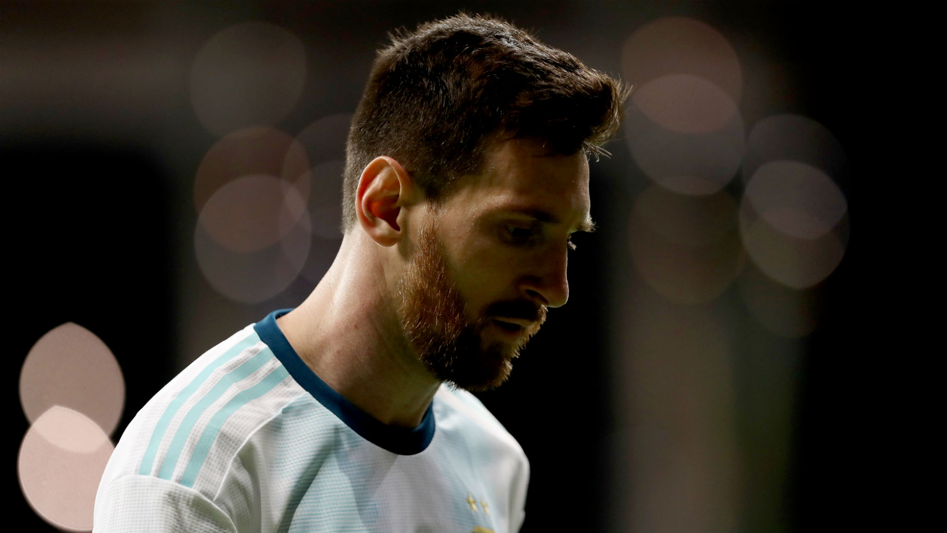 Lionel Messi urges Argentina 'to think positively'
