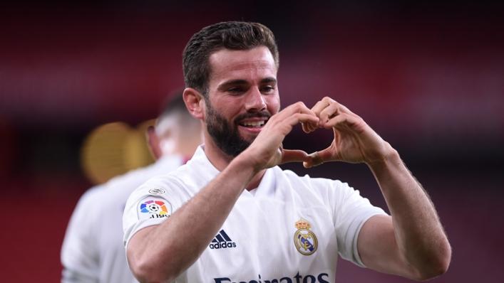 Nacho Fernandez got Real Madrid's winner on Sunday