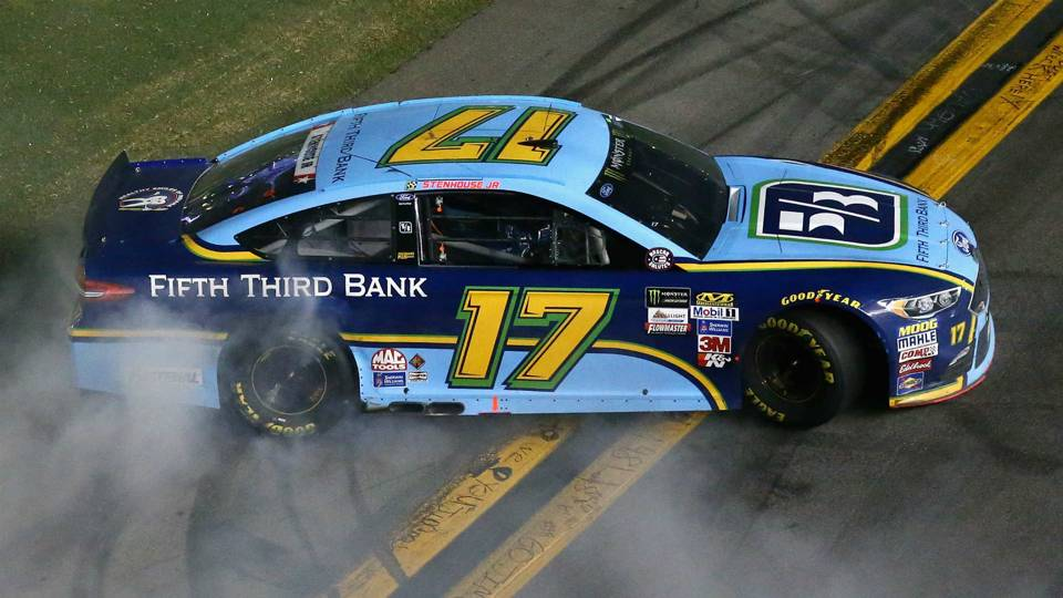 Ricky Stenhouse Jr. isn't going to race ex-girlfriend Danica Patrick differently after breakup