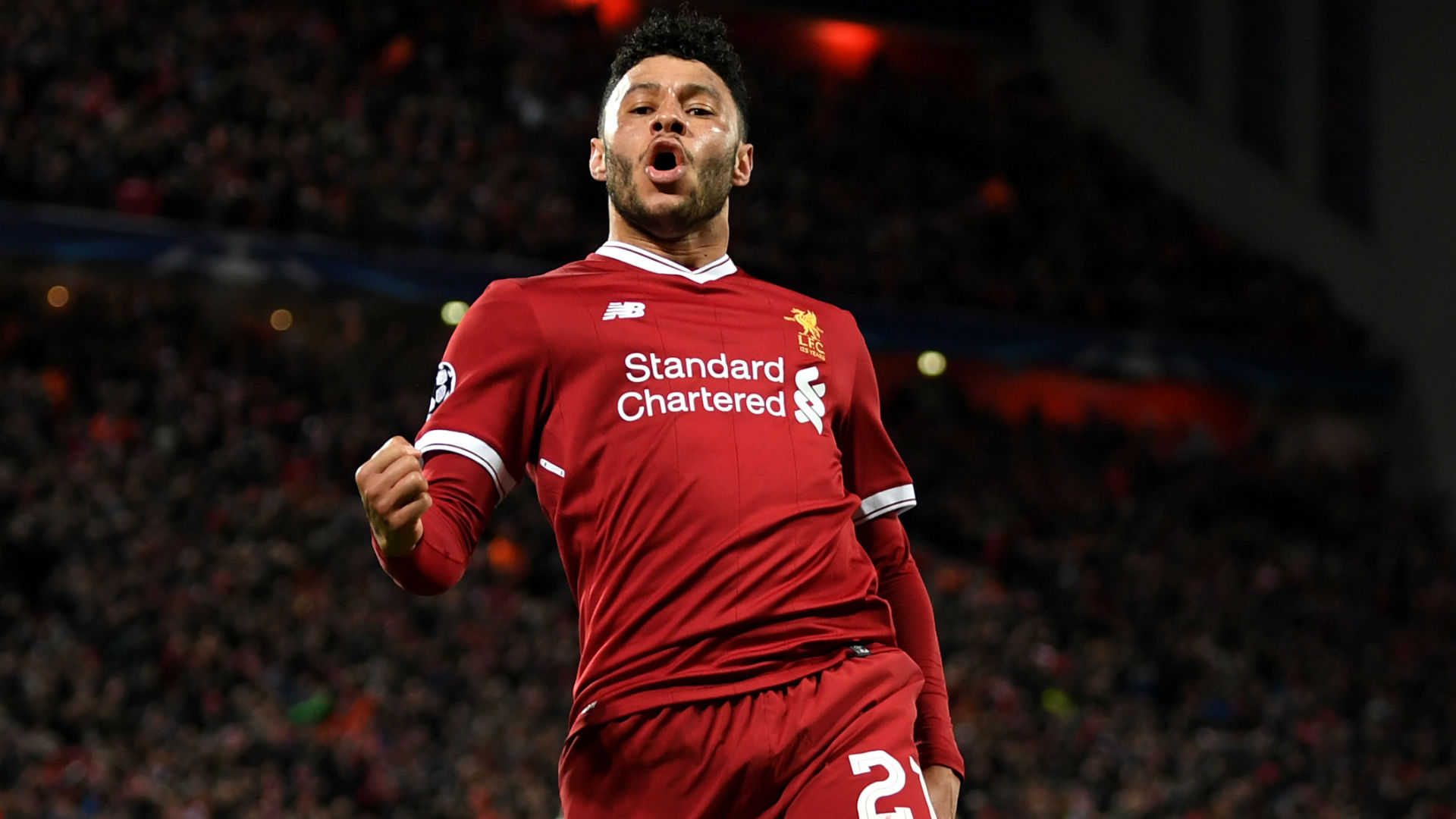 Oxlade-Chamberlain Hits An Absolute Screamer To Send Anfield Into Raptures
