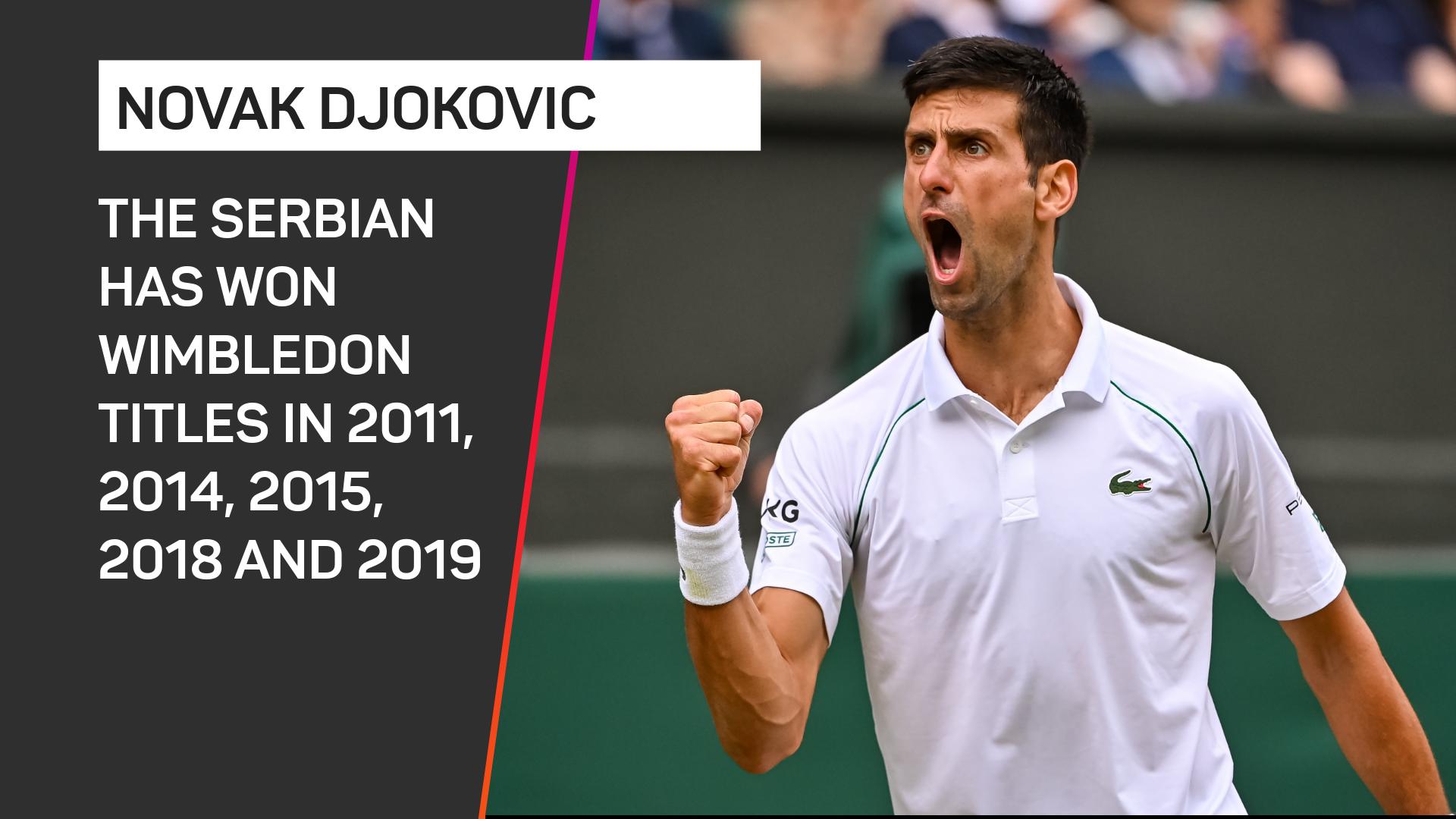 Novak Djokovic Wimbledon record
