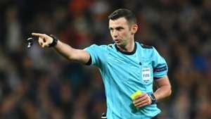 Referee Michael Oliver