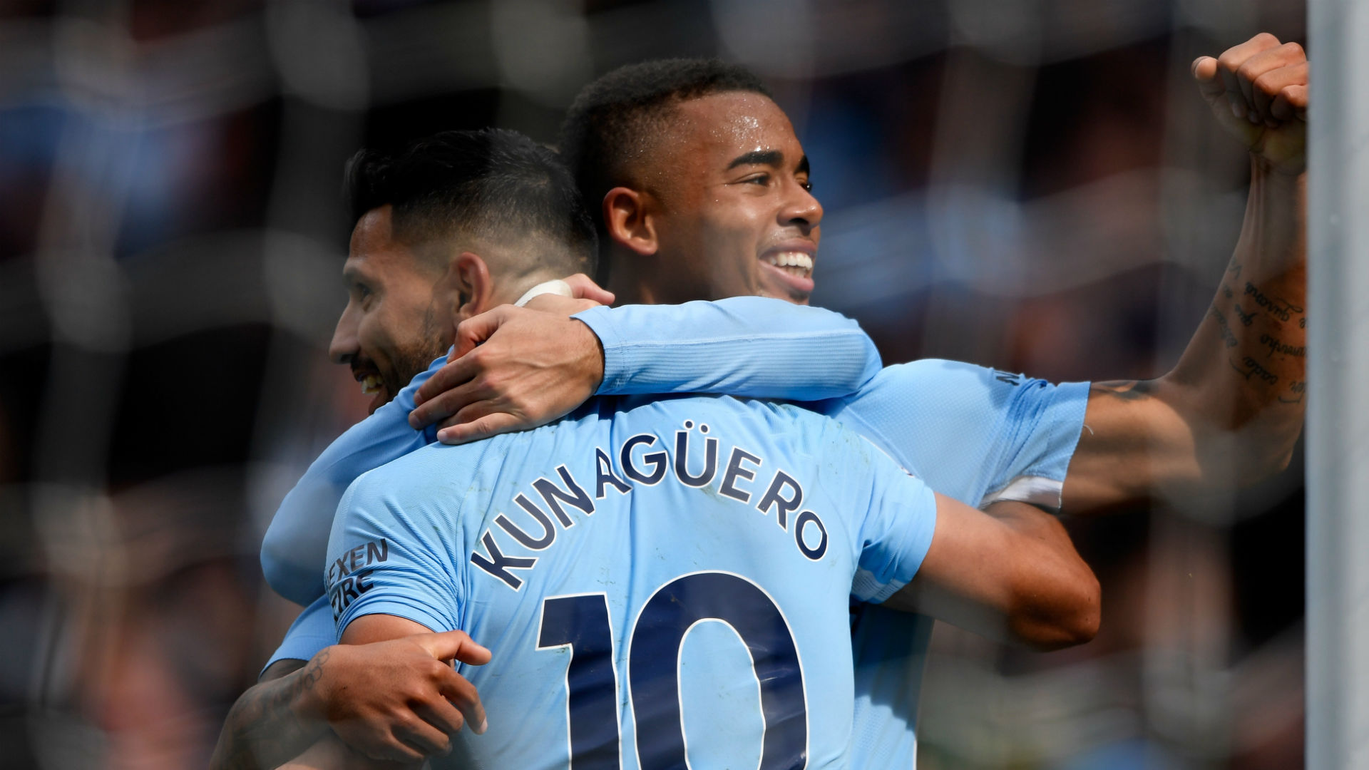 Image result for gabriel jesus and aguero