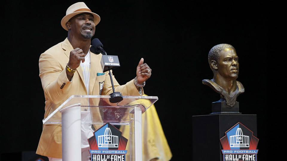 WATCH: Pro Football Hall of Fame inductees' speeches; gratitude, passion abound