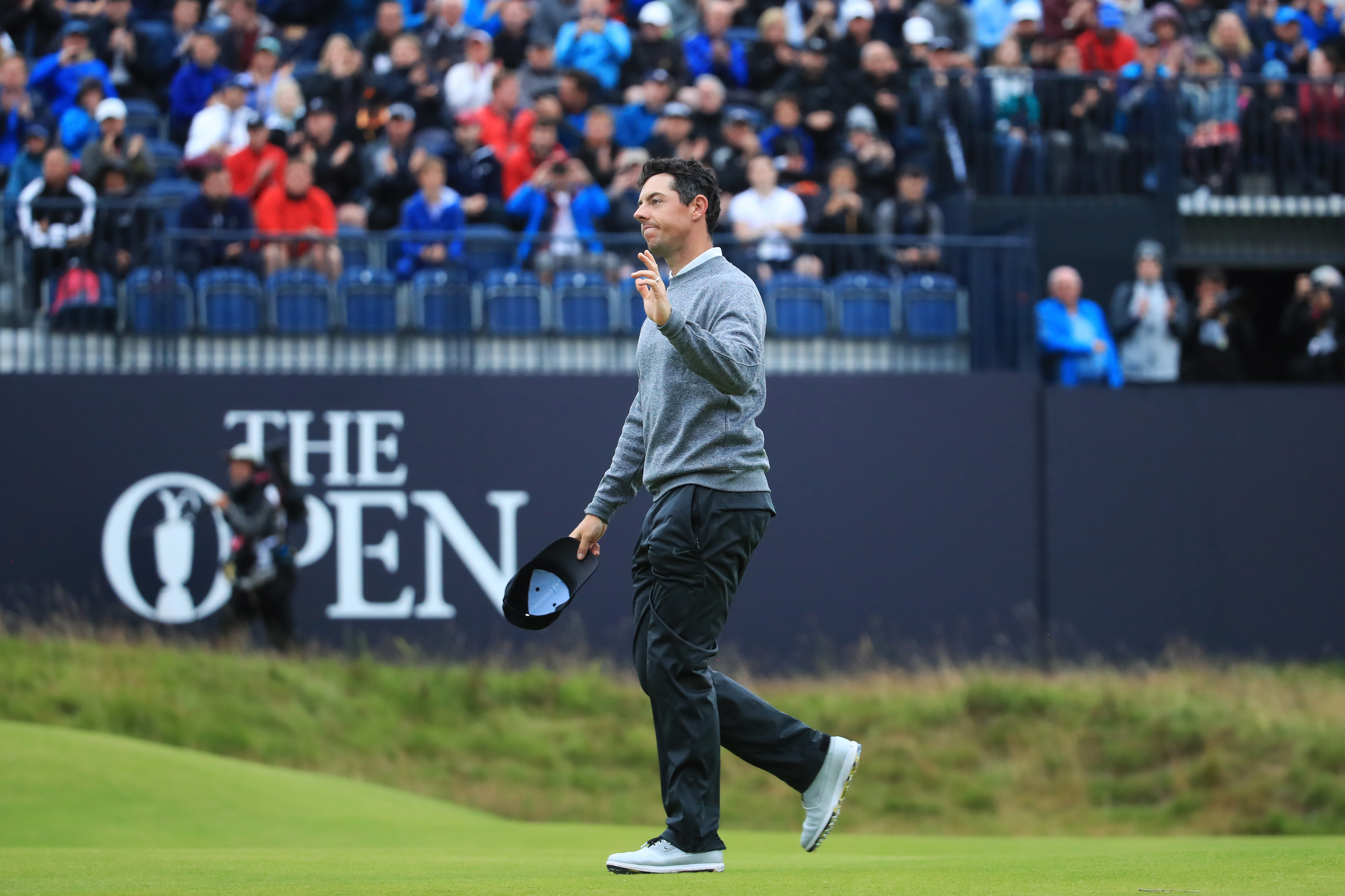 British Open 2019: Emotional Rory McIlroy praises 'incredible' support after near-miss