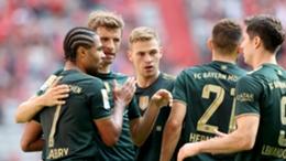 Bayern Munich celebrate against Bochum