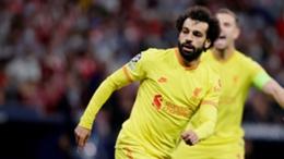Mohamed Salah extended his scoring streak with a goal against Atletico Madrid