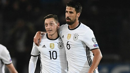 Ozil and Khedira - Cropped