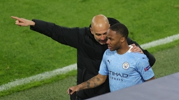 Pep Guardiola no longer appears to count Raheem Sterling as a regular starter