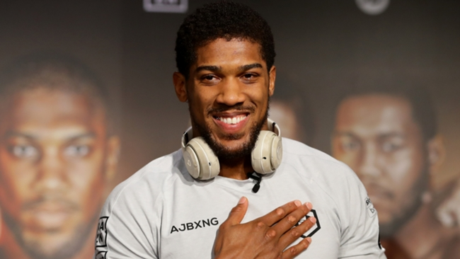 Anthony Joshua is expected to face Oleksandr Usyk on September 25