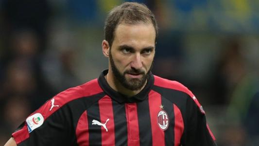 AC Milan striker Higuain fit to face parent club Juventus