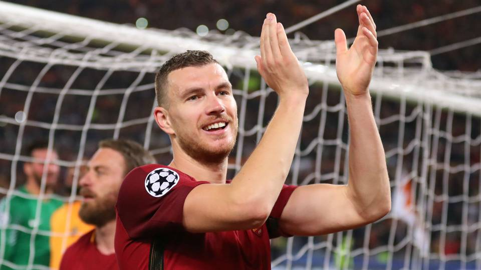 Dzeko happy to have rejected Chelsea after Champions League heroics