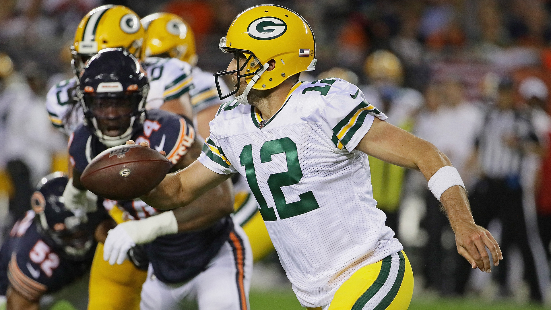 Three takeaways from the Packers' lackluster win over the Bears