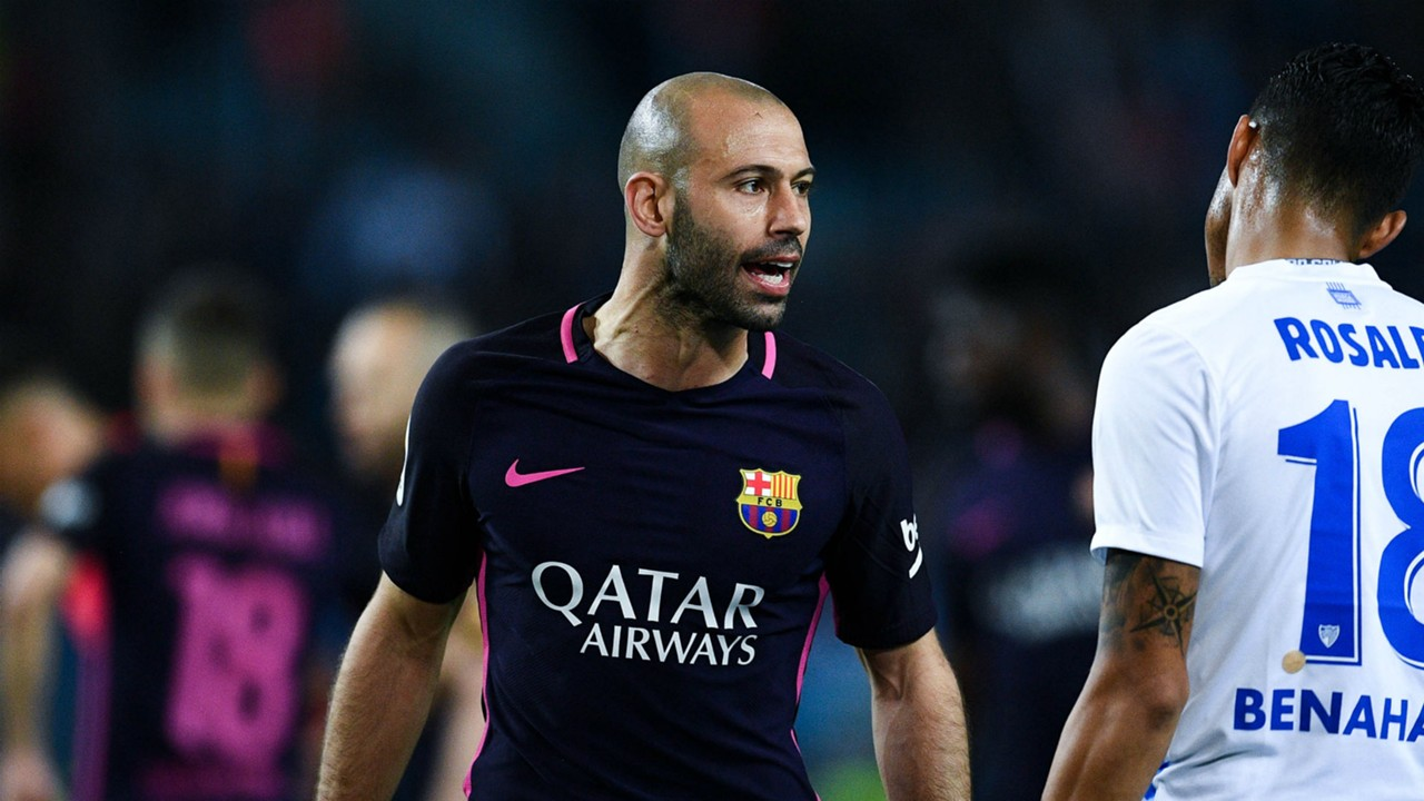Barcelona Javier Mascherano hamstring injury confirmed