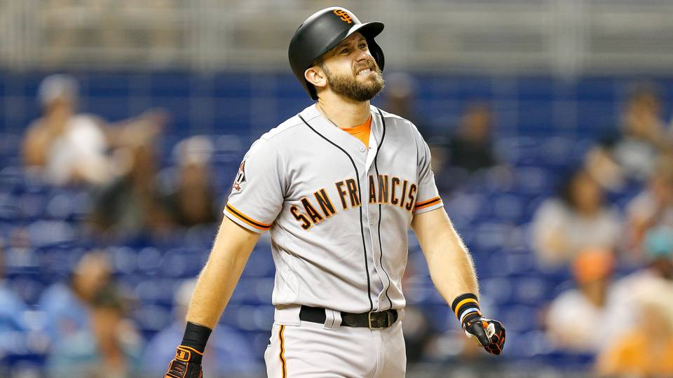Giants' Evan Longoria out 6 to 8 weeks after breaking hand, report says