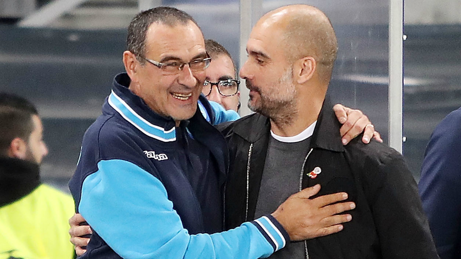 Guardiola would love to see Sarri in Premier League