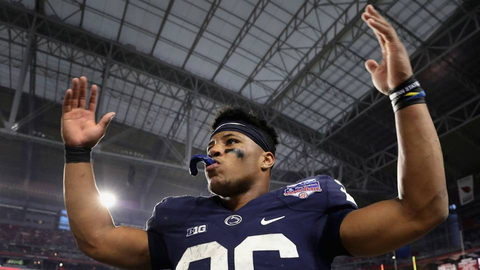 Giants sign Saquon Barkley to 4-year rookie deal