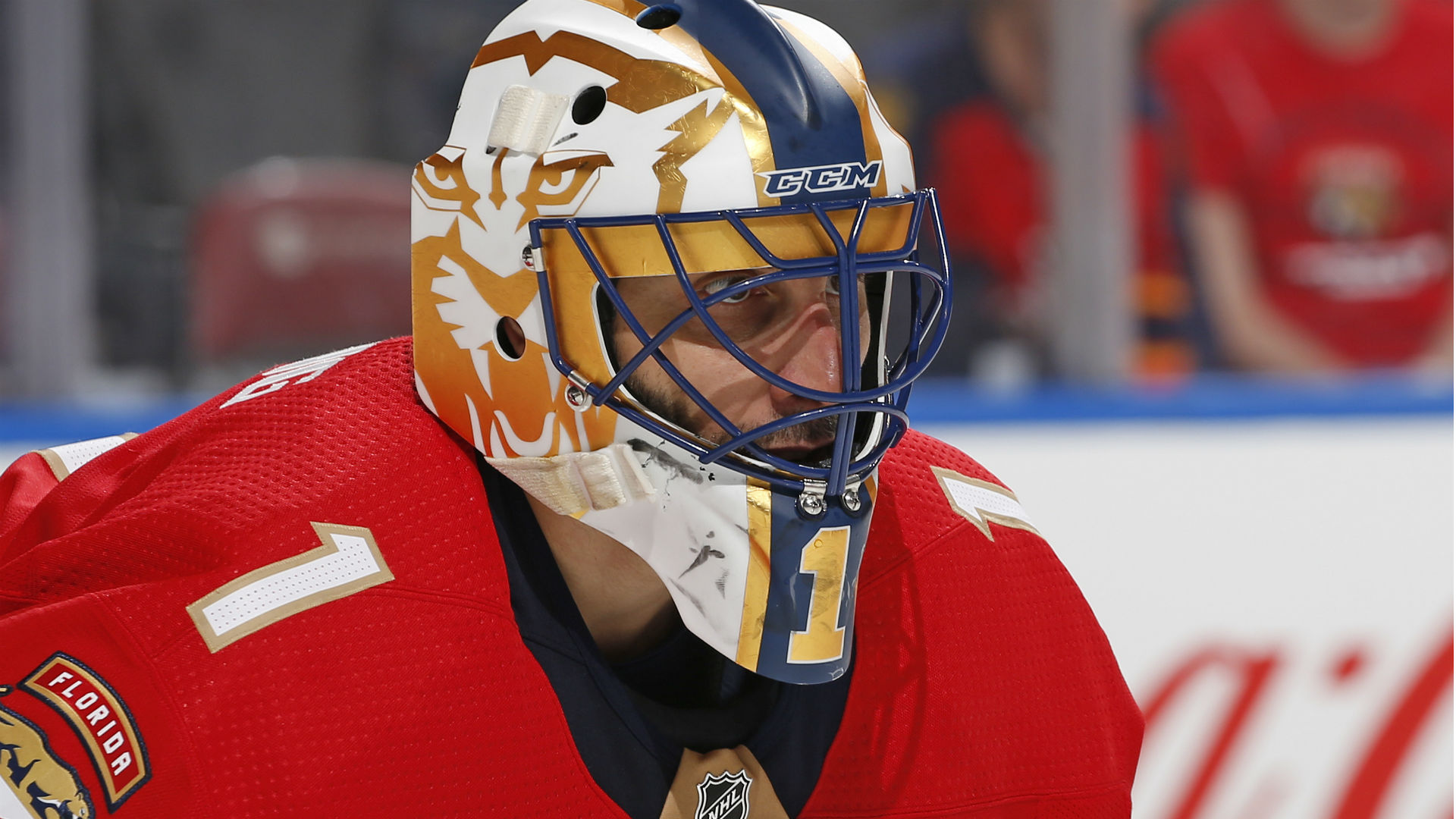 Panthers to retire Roberto Luongo's No. 1 jersey