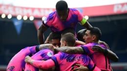 PSG celebrate a dramatic win against Saint-Etienne
