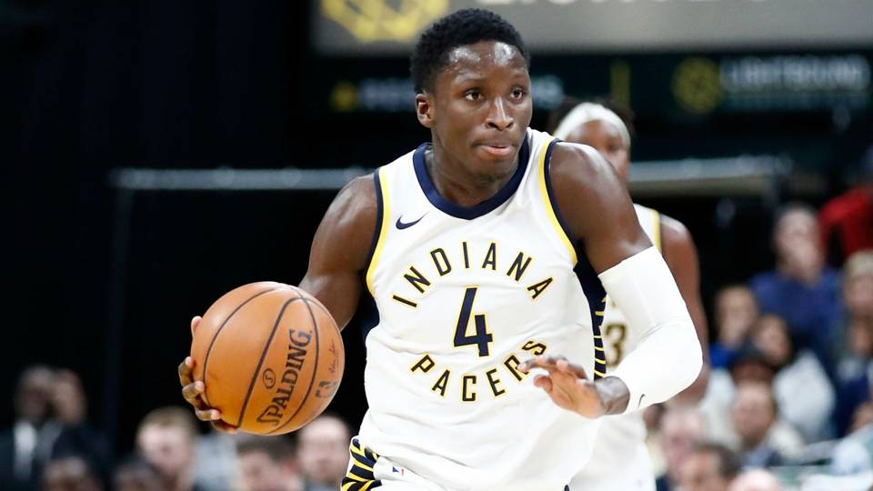 Pacers challenge Victor Oladipo to not be 'one-hit marvel,' play Milli Vanilli during exit interview
