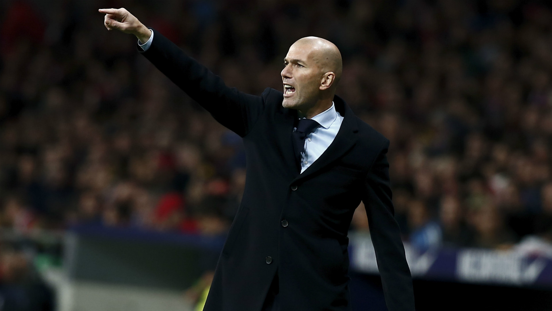 With words, Zidane tries to get Real Madrid back on track