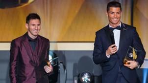 Lionel Messi Cristiano Ronaldo - cropped