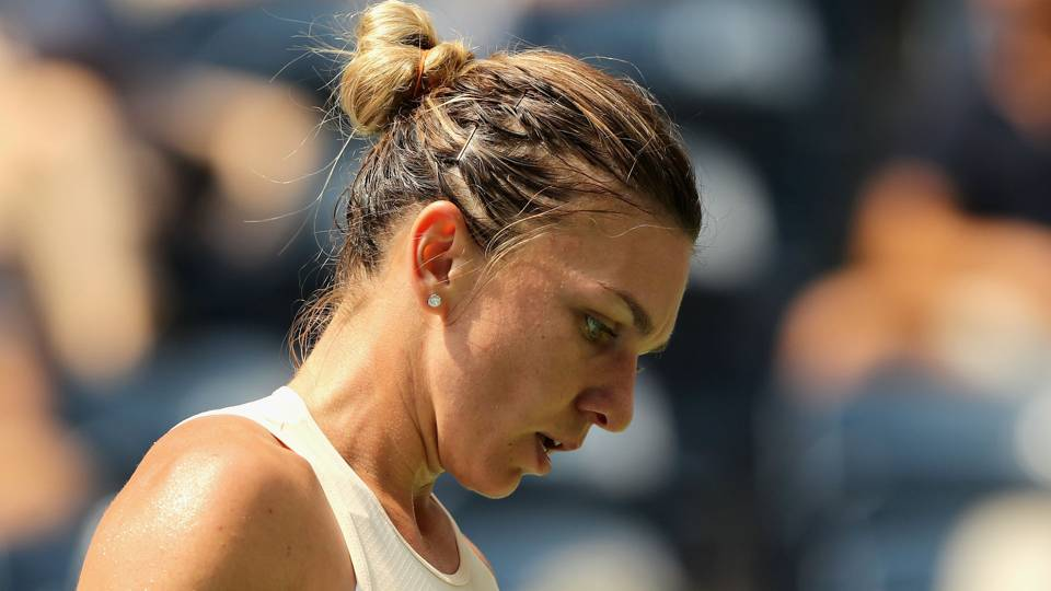 U.S. Open 2018: Top seed Simona Halep upset by Kaia Kanepi