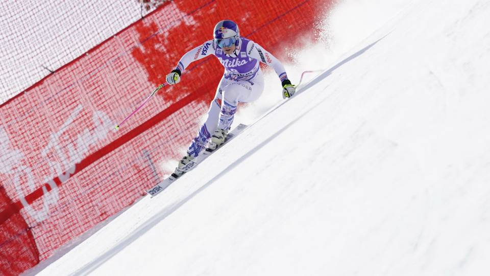 Emotional Lindsey Vonn could quit immediately after super-G failure