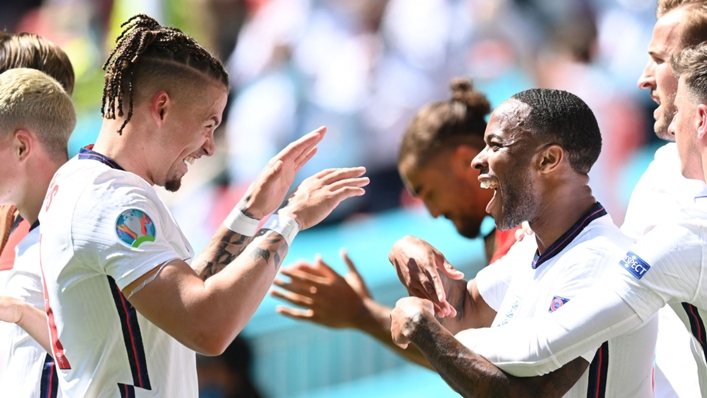 Kalvin Phillips and Raheem Sterling combined for the winner