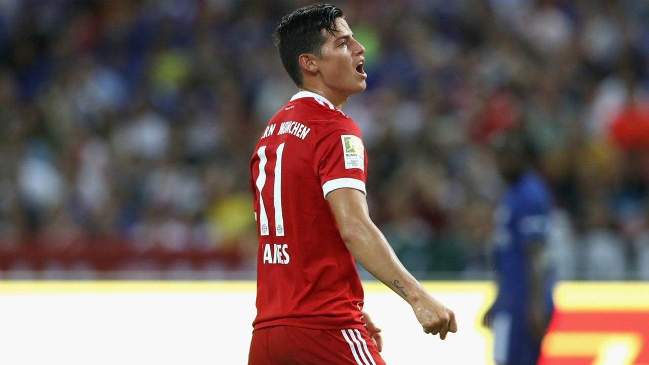 FC Bayern Munich News James Rodriguez Out For Weeks