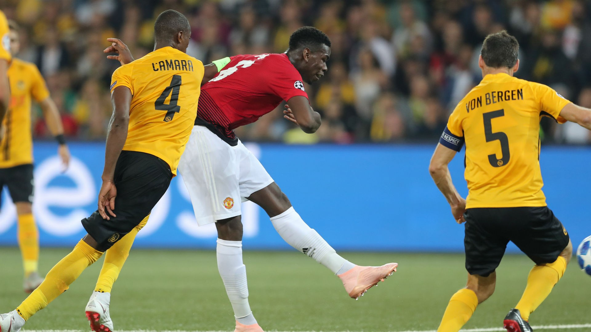 UCL (2018-2019) Report: Young Boys 0 Manchester United 3 - Pogba double inspires Red Devils