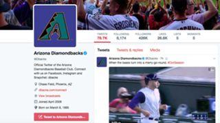 Diamondbacks on Twitter