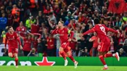 Jordan Henderson celebrates his goal against Milan