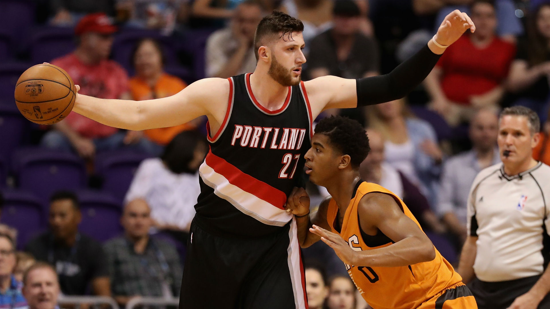 Blazers' Jusuf Nurkic: 76ers' Joel Embiid 'tries to be more famous than a player'