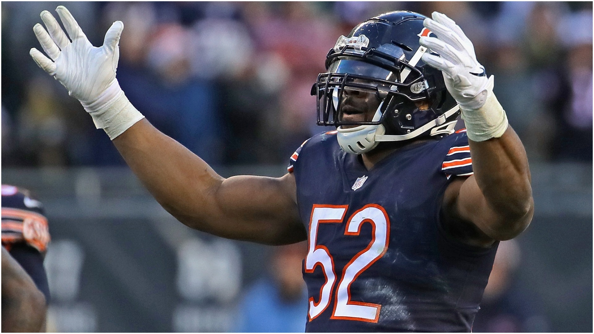 Khalil Mack: Bears 'running out of time' to win a Super Bowl