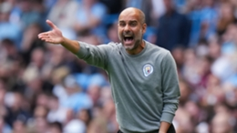 Pep Guardiola's champions head to Anfield on Sunday